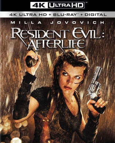 Resident Evil: Afterlife [4K Ultra HD Blu-ray/Blu-ray] [2010] in