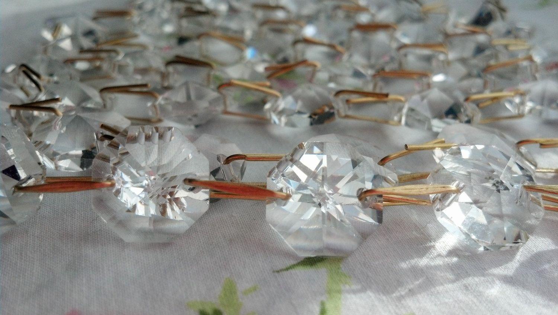 5 yards Chandelier Crystals Christmas Tree Garland