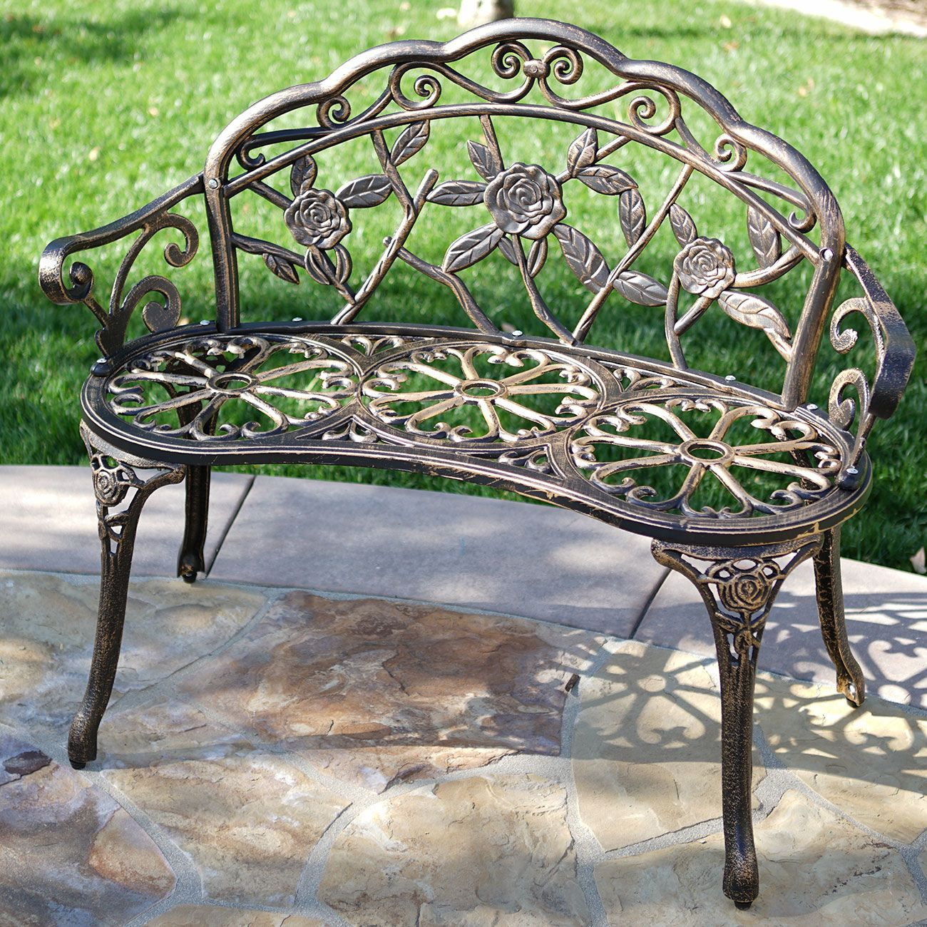 41 Top Collection Aluminum Garden Bench In 2020 Outdoor Garden Bench Metal Garden Benches Outdoor Bench