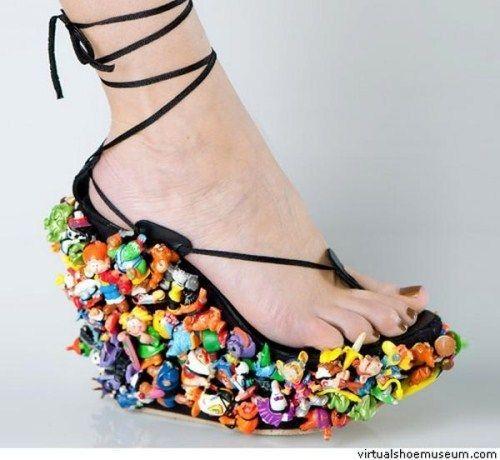 20 Craziest Shoe Designs - bemethis | Crazy shoes