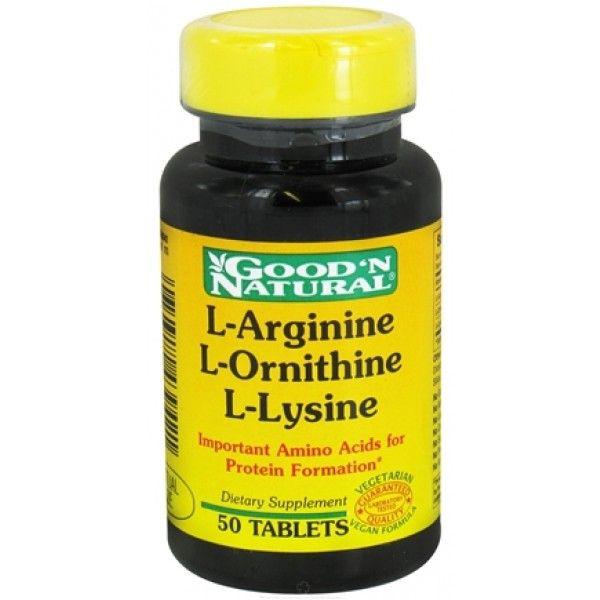 l-arginine l-ornithine l-lysine for increase hgh exercise, l