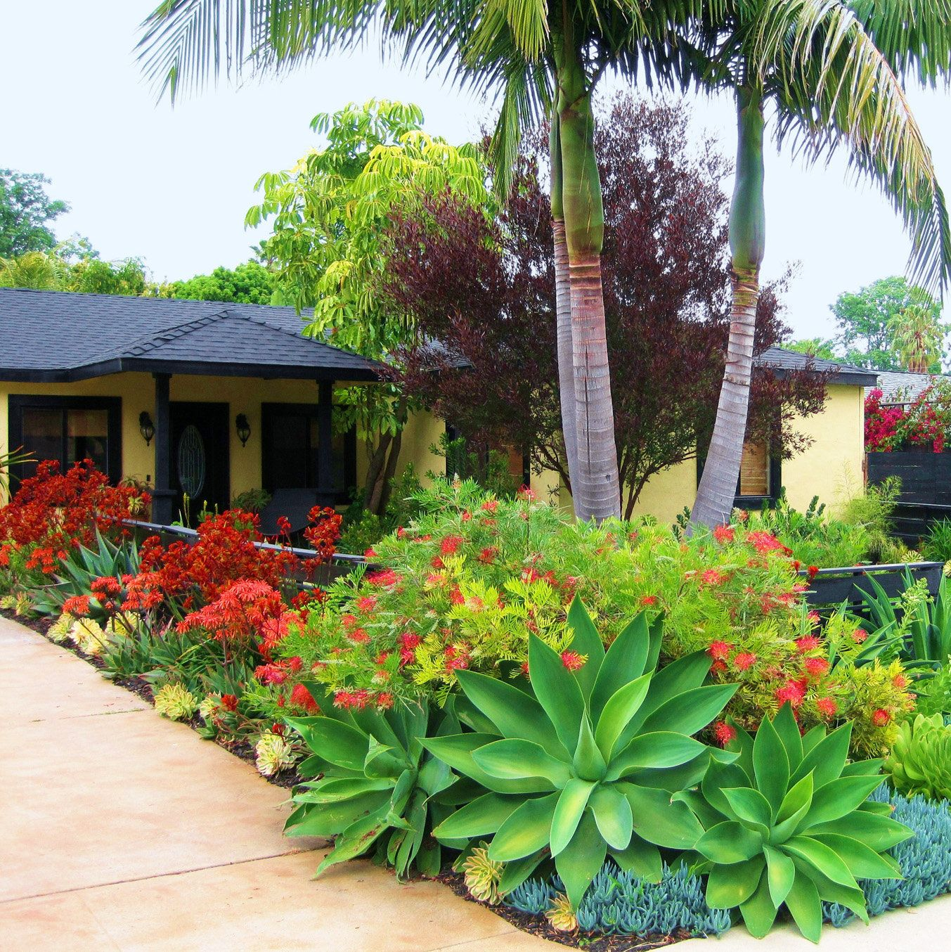 Creative front-yard makeovers | Southern landscaping ... on Tropical Landscaping Ideas For Small Yards id=59251
