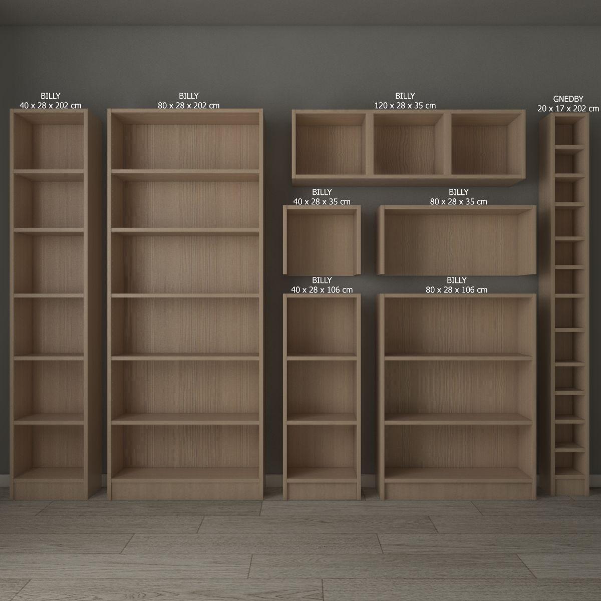 Ikea Billy Oxberg Bookcase Billy Ikea Bookcase Oxberg With