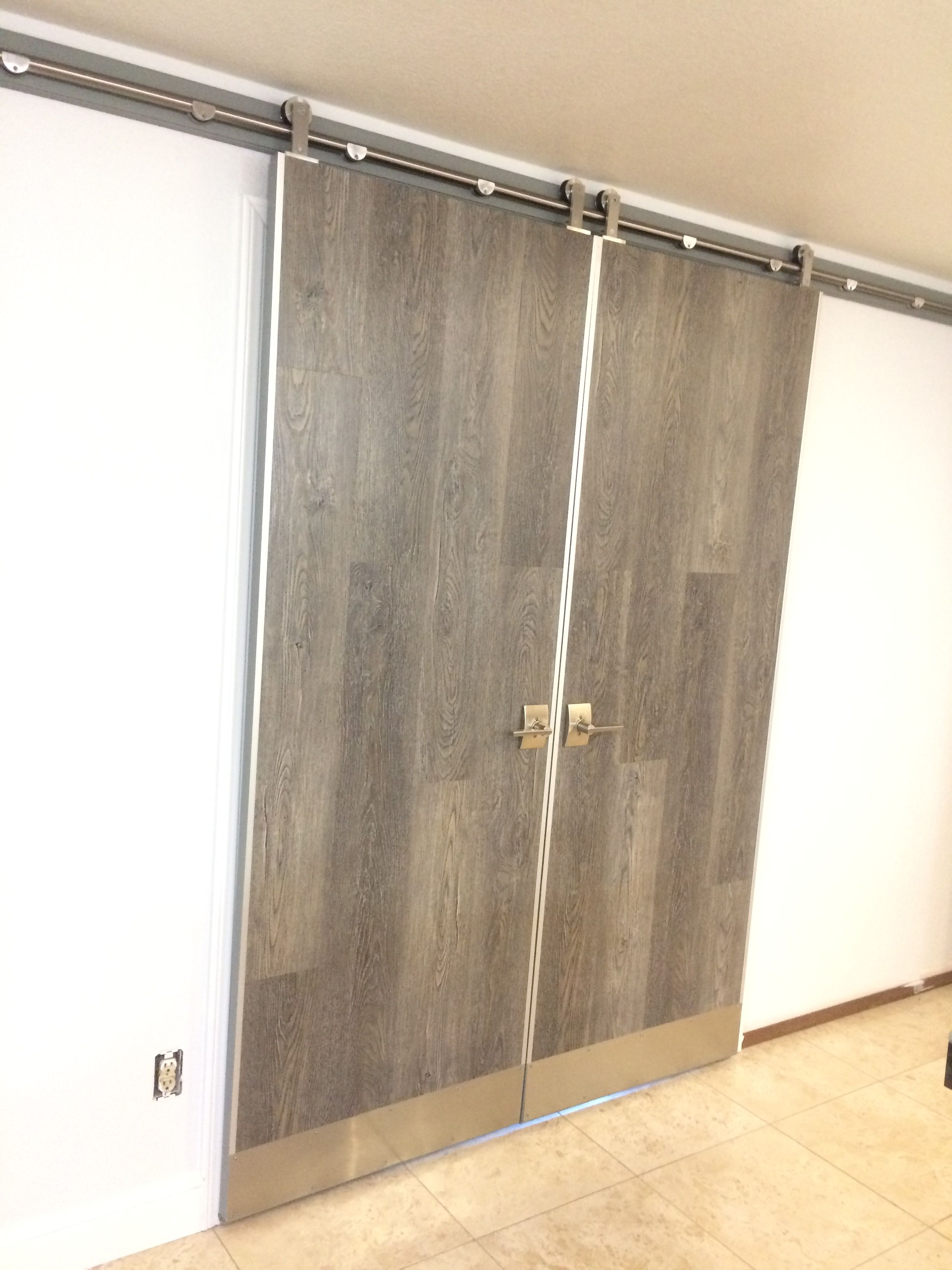 Repurposed Old Doors To Create These Beautiful Double Rustic Modern