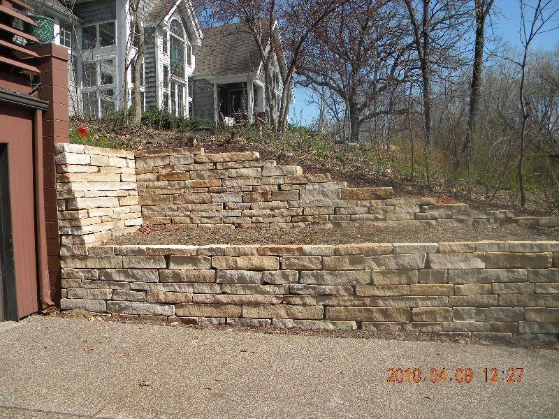 Stone Retaining Walls Stone Work Retaining Walls Ace Concrete Stone Brick Paving Retaining Wall Brick Paving Stone Work