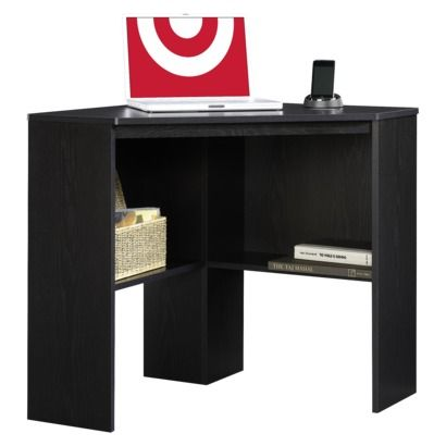Target Expect More Pay Less Corner Desk Black Desk Desk