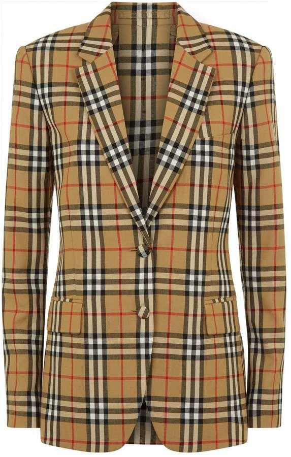 df68ae9af74 Burberry Vintage Check Blazer Check Blazer