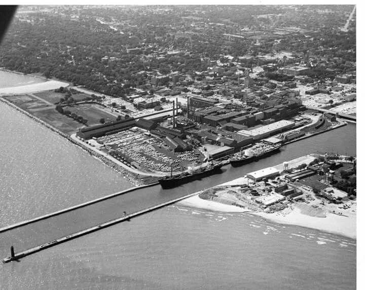 American Motors Corp Amc Lakefront Factory Building Plant 1969