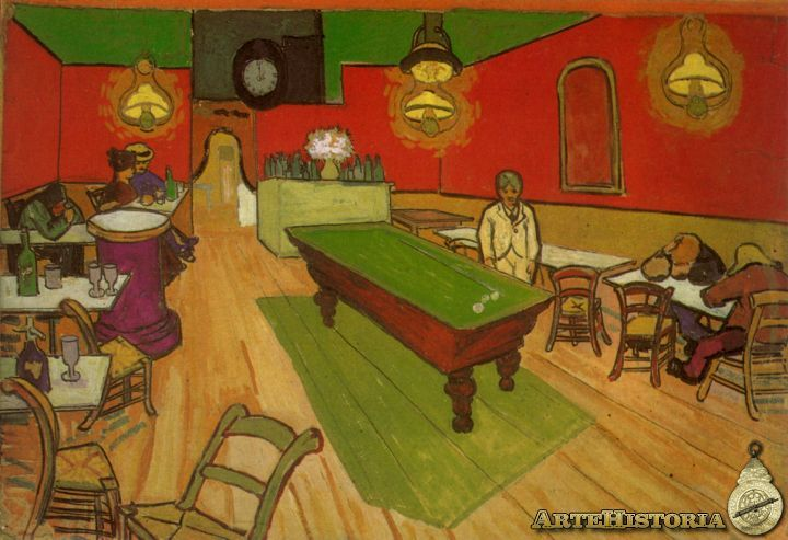 Café nocturno en Arles - Obra - ARTEHISTORIA V2