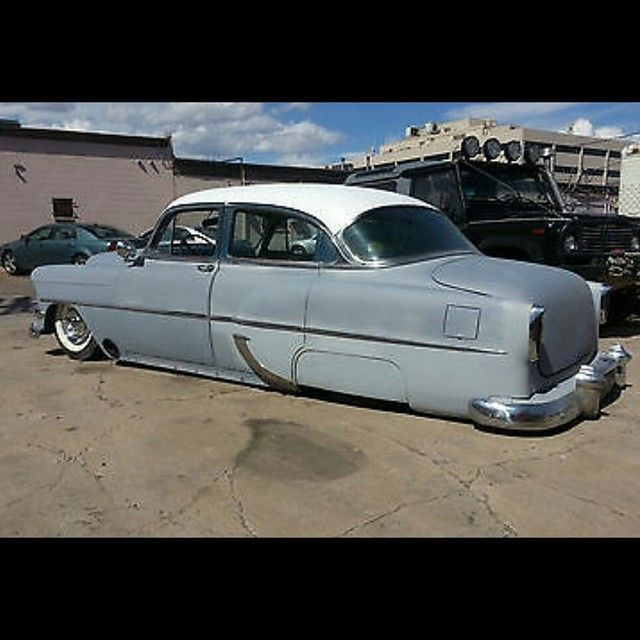 1954 chevrolet 4 door 1953 54 chevrolet pinterest for 1954 belair 4 door