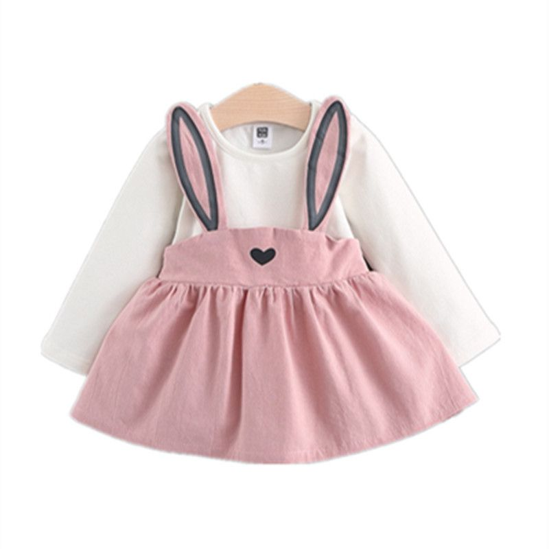 c71d3f756895 Baby Girls Bunny Easter Dresses