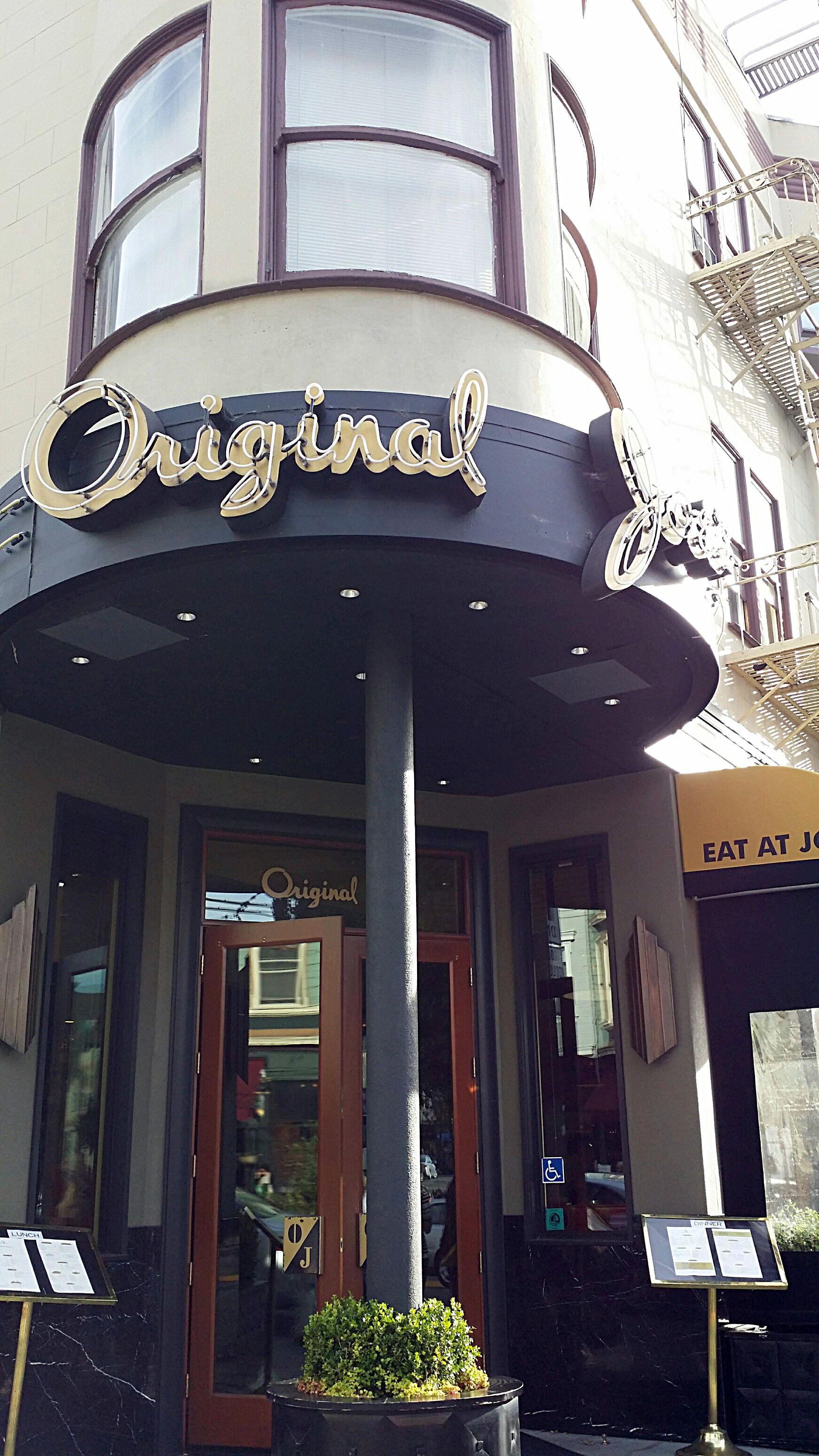 Original Joe's, North Beach SF | restaurants i like ...