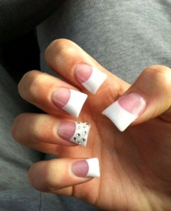 52 gorgeous and fabulous white short acrylic nails and