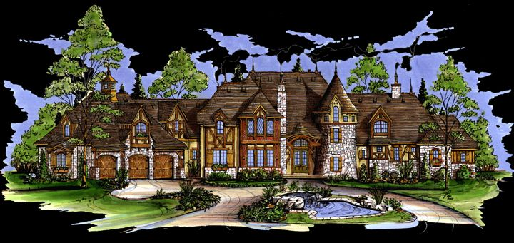 chateau collectioncustom usually over 5500 square feet - 5500 Square Foot House Plans