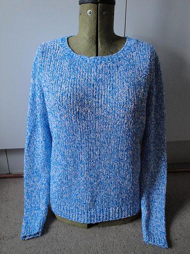 Ballet Cardigan Knitting Pattern : Ballet Neck Jumper Knitting machine