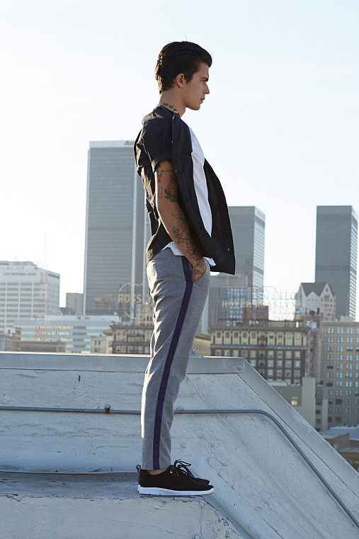Your Neighbors Hauser Tuxedo Pant - Urban Outfitters