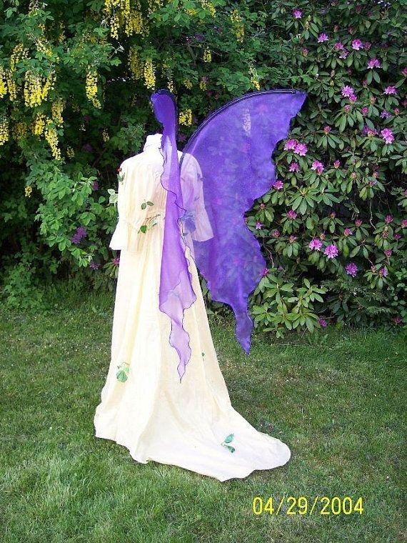 Pin By Deborah George On Fairy Wings Fairy Wings Costume