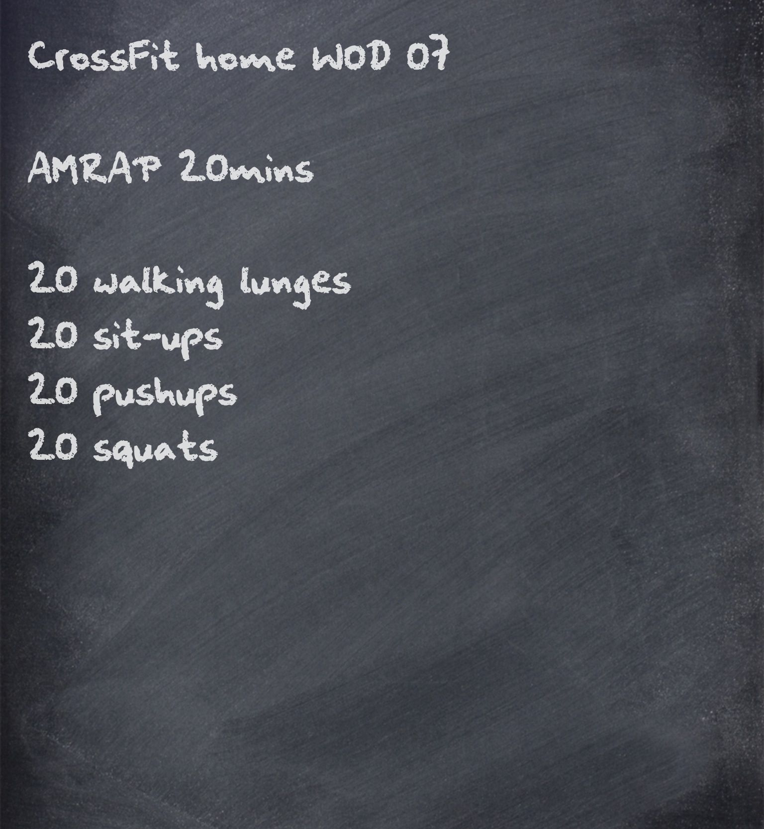 Wod Exterieur Crossfit Home Wod Amraps Are Perfect For Periodically