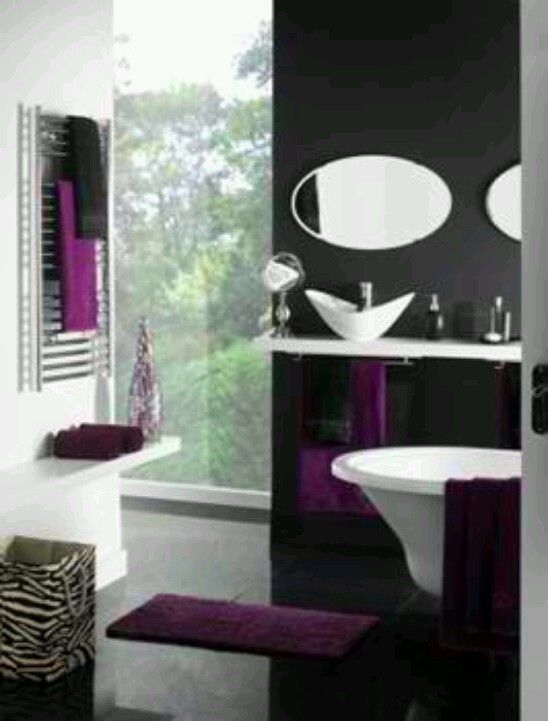 Gotta have a bathroom that matches the bedroom
