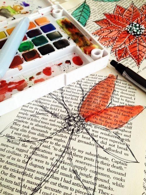 Altes Papier Selber Machen beautiful ways to repurpose books altes papier malen und zeichnen