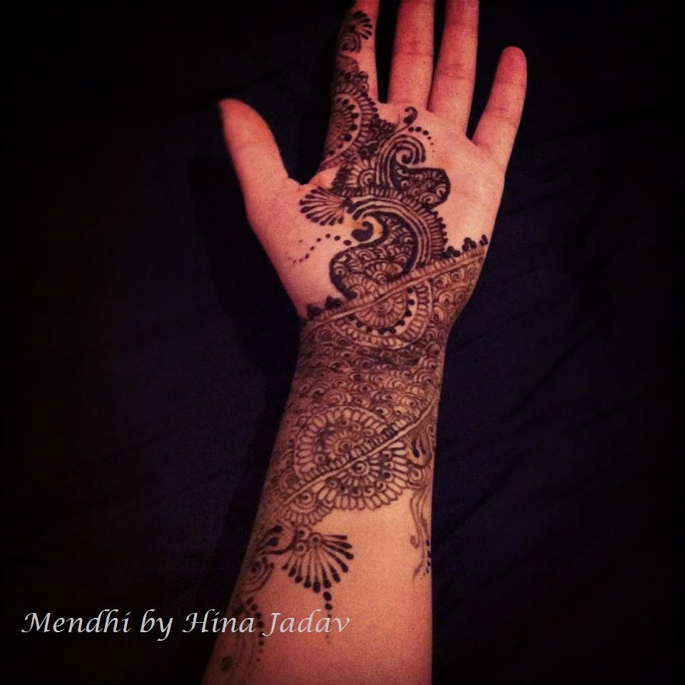 Stunning Bridal Henna Designs By Ash: Mendhi Design Inspired By Ash Kumar