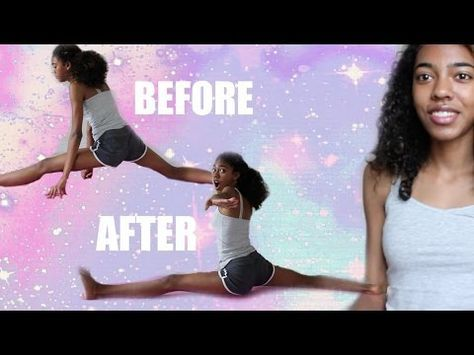how to get the splits in one day  youtube  splits