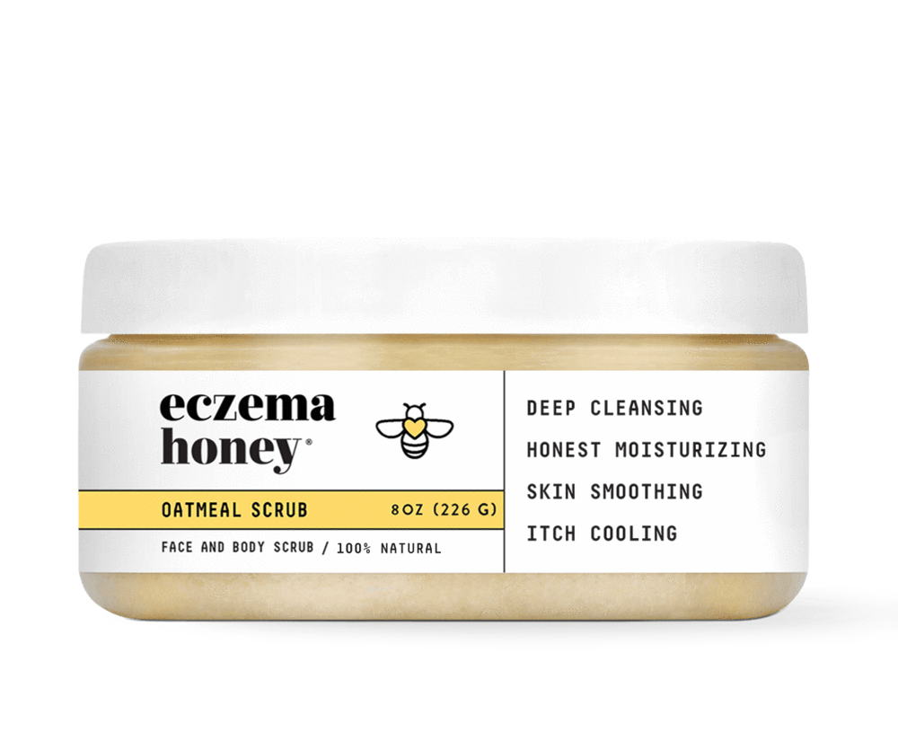 Newest Products Eczema Honey Co Oatmeal Scrub Eczema Eczema Relief
