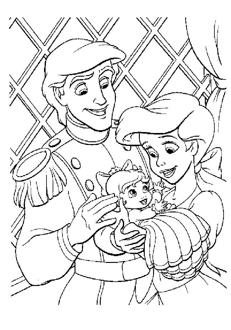 Little Mermaid 26 Coloring Pages  Ariel coloring pages, Mermaid
