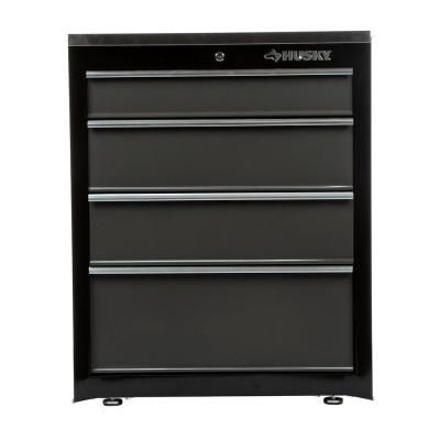 Best Husky 27 In 4 Drawer Base Cabinet 27Bc401Bp Thd The 400 x 300