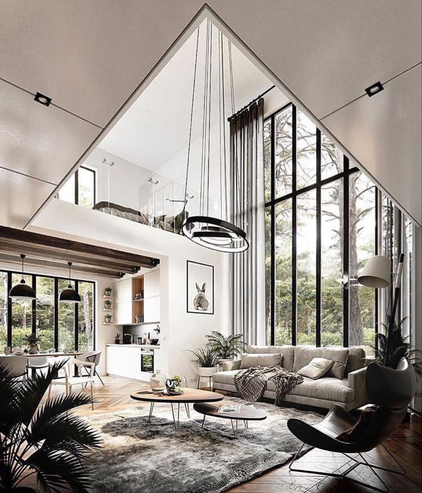 Luxury Houses Interiors On Instagram Interior Goals Inspired By Thedavidsiddonsgr Contemporary Decor Living Room Modern Houses Interior House Interior