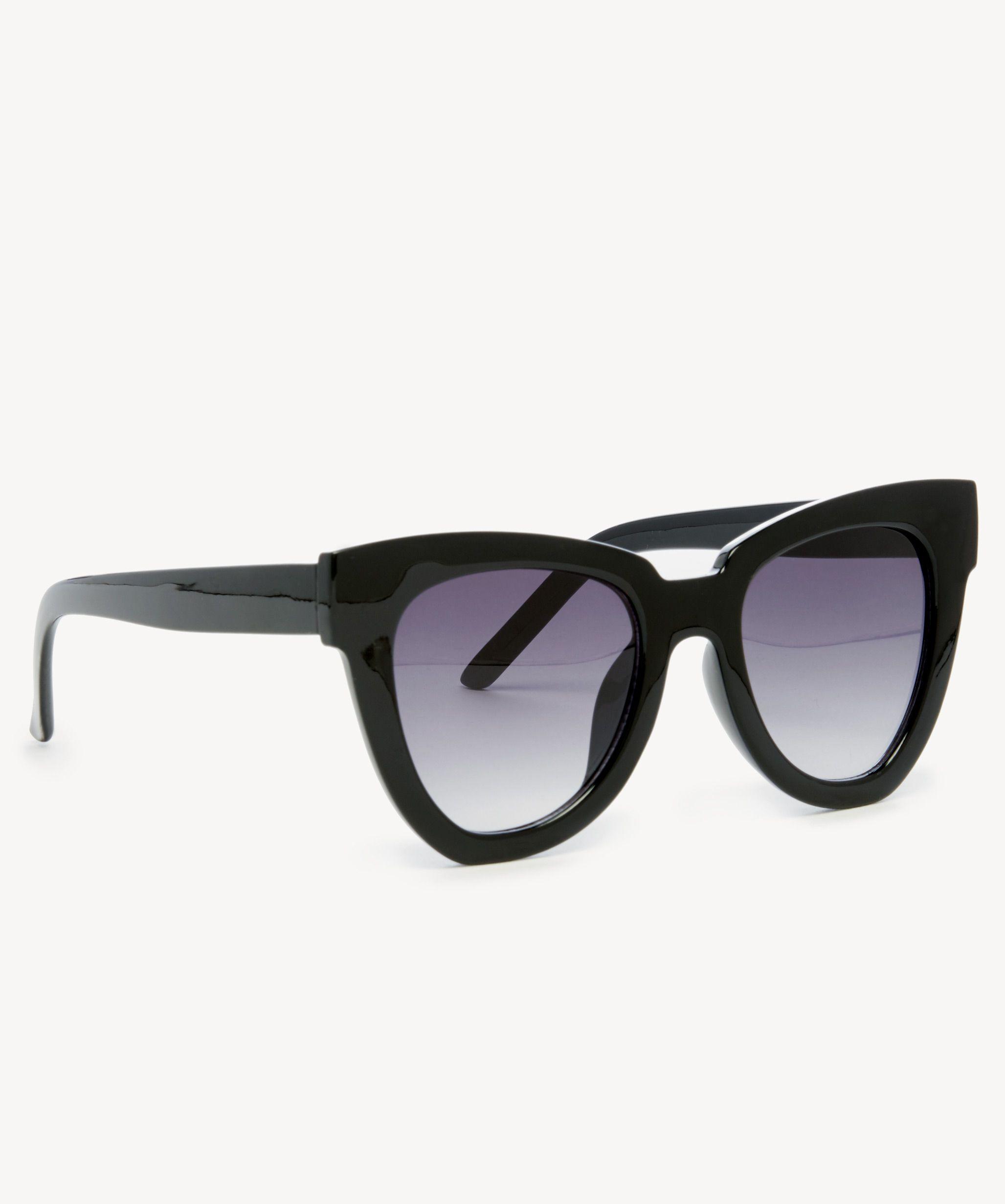 87906c0b36 Women s Phip Oversize Cat Eye Sunglasses Black