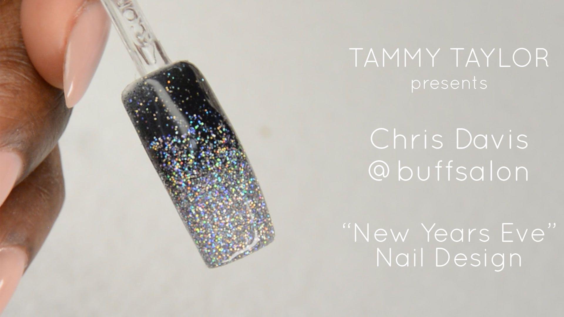 New Years Eve Nail Design By Chris Davis Buffsalon Videos