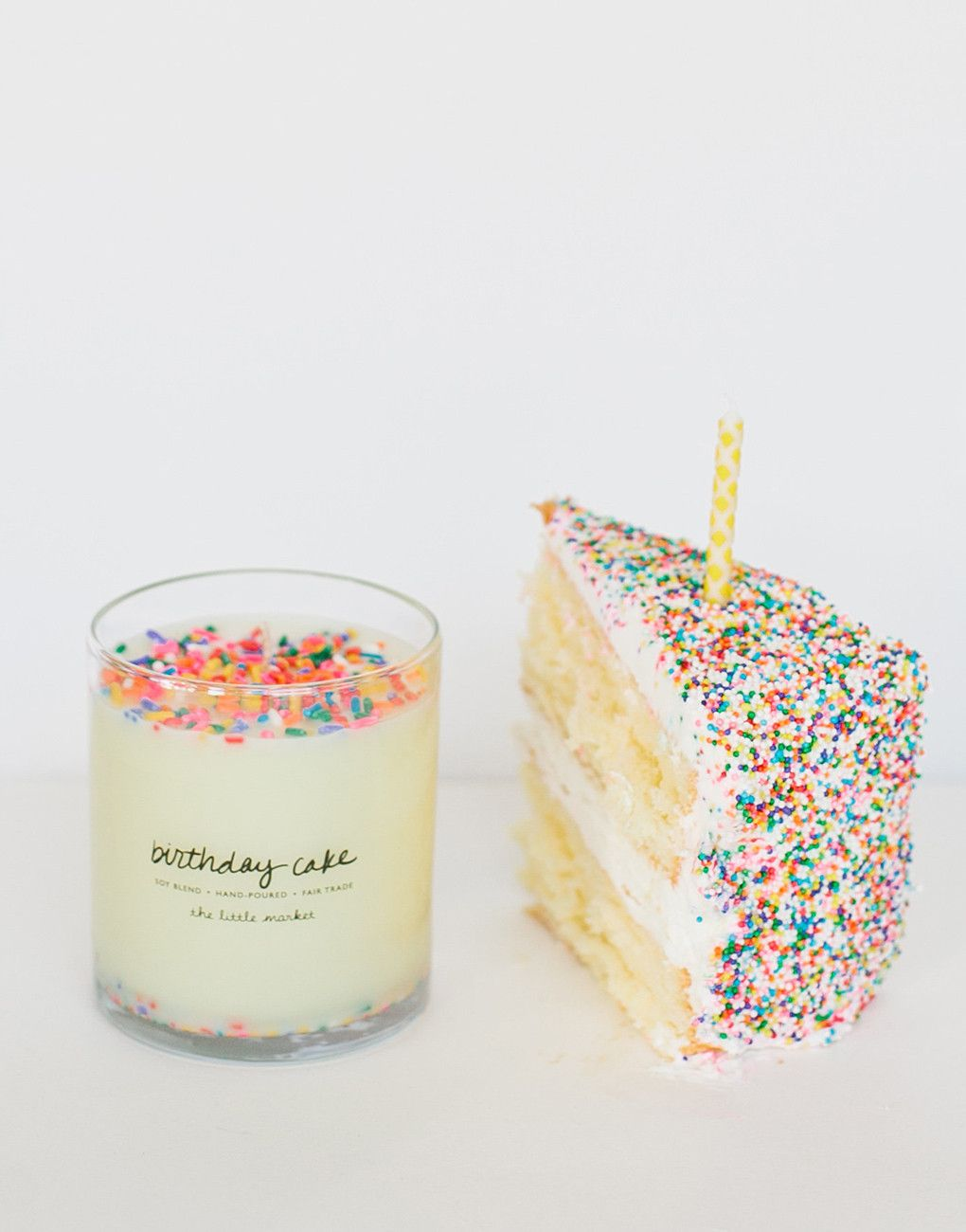 Celebrate Your Birthday Everyday With The Delicious Scent Of A Freshly Baked Cake Frosting And All This Candle Is Perfect Gift