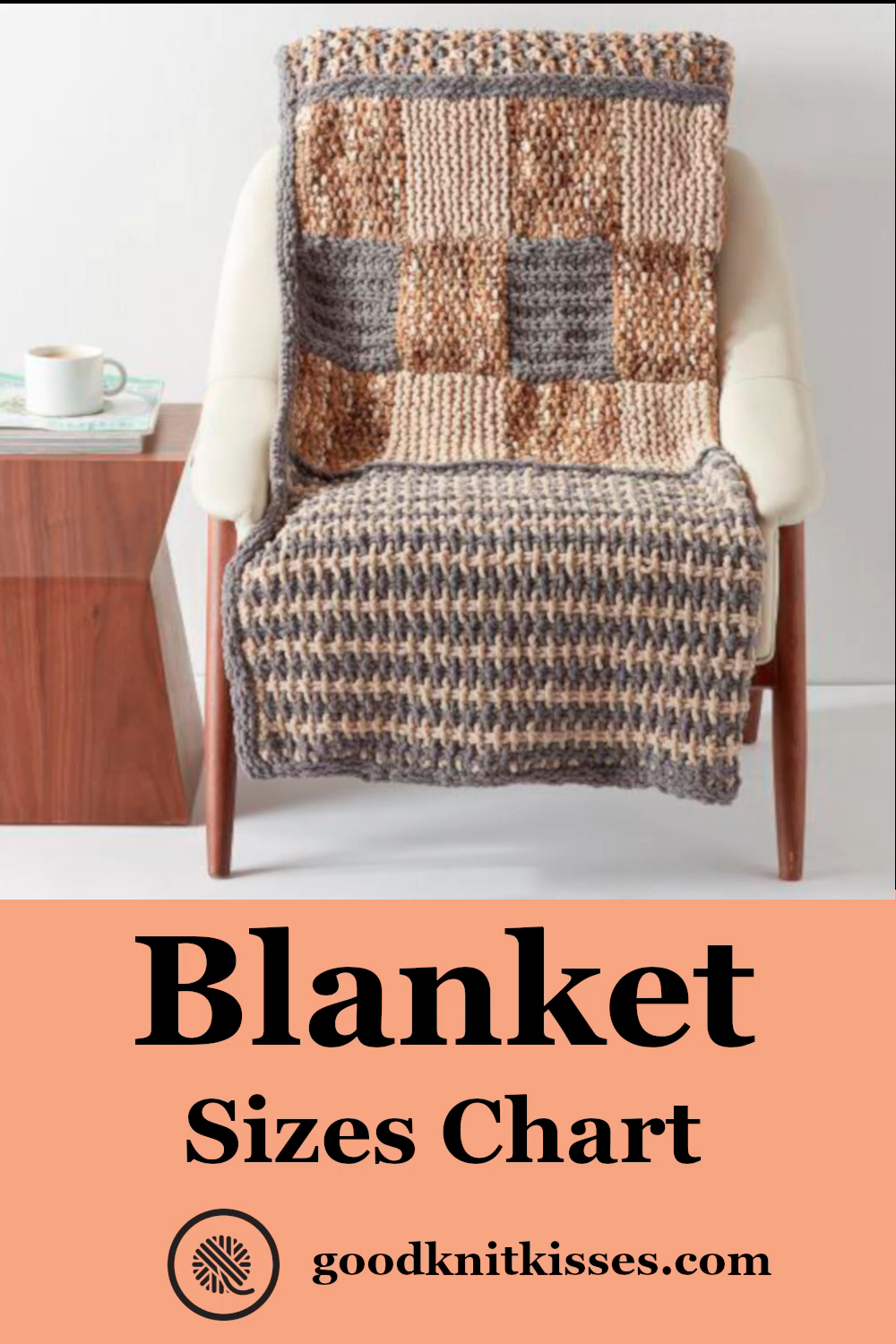 Photo of Knit or Crochet the Perfect Size Blanket!