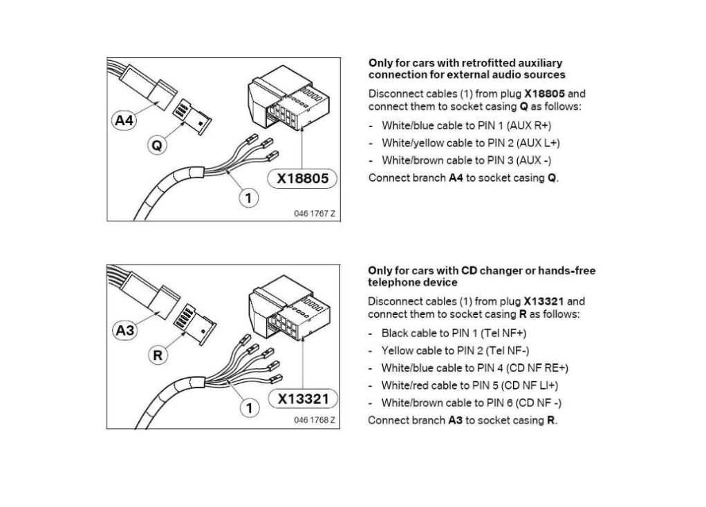 Bmw E46 Cd Changer Wiring Diagram : Aux and cd changer i g  cars
