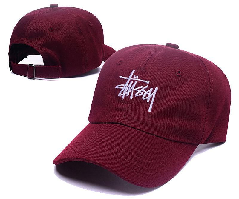 Men s   Womens s Stussy 6-Panel Stock Logo Signature Adjustable Baseball  Dad Hat… 3a55f18a634