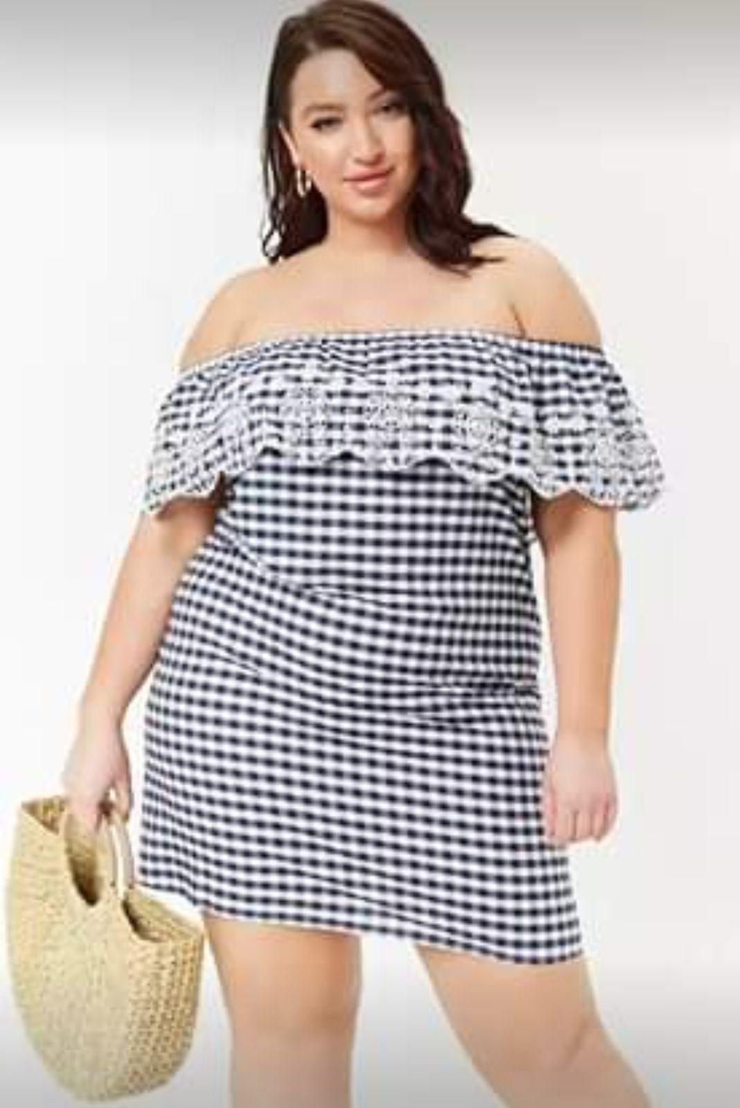 Black And White Checkered Dress On Mercari Shift Dress Plus Size Mini Dresses Plus Size [ 1599 x 1068 Pixel ]