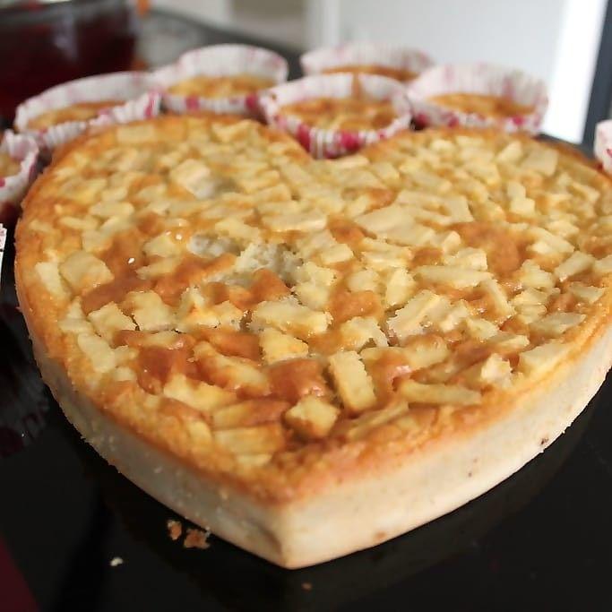 Birnen-Apfel-Kuchen