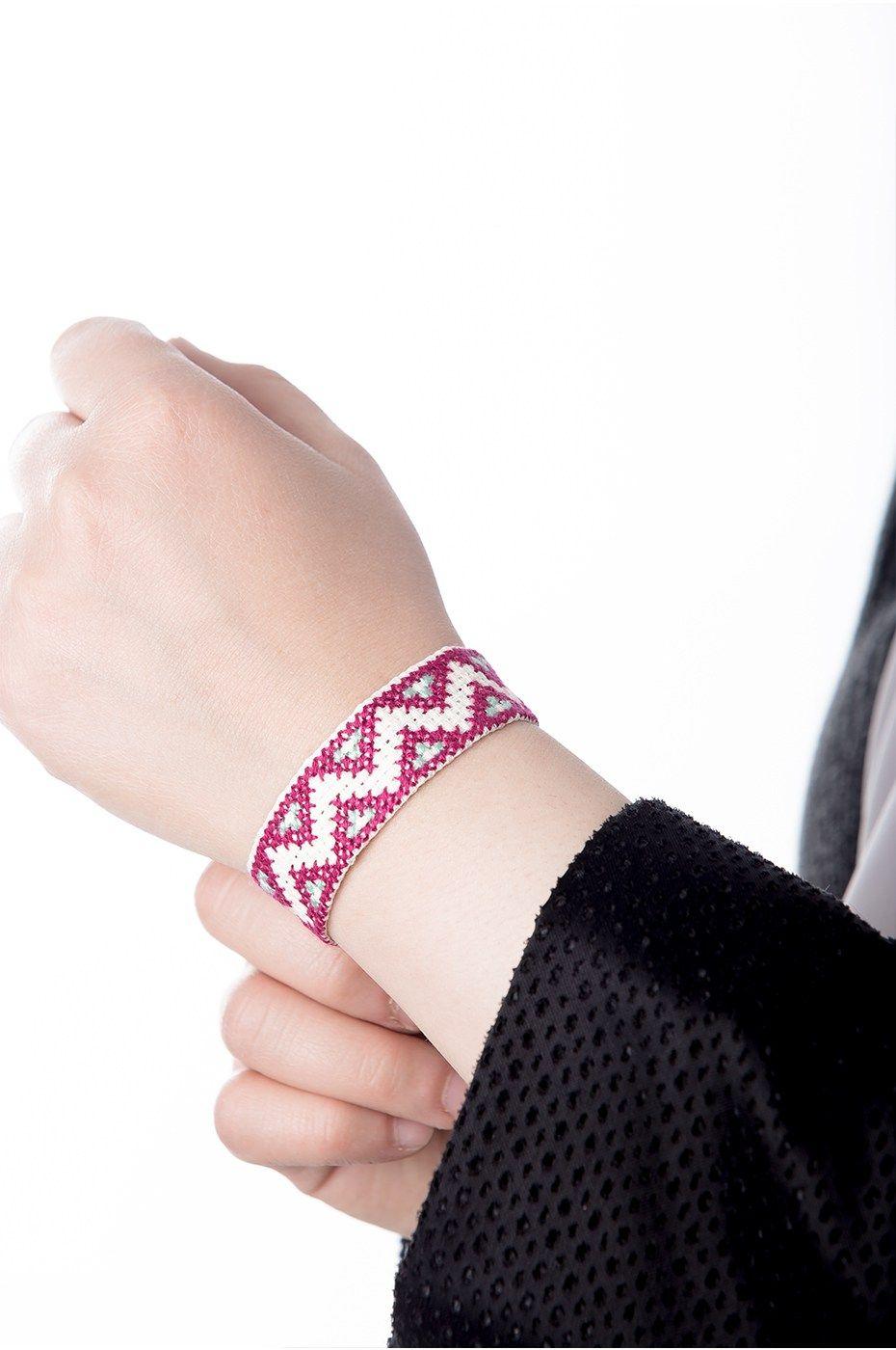 متجر السندس Friendship Bracelets Embroidered Friendship Bracelet Jewelry