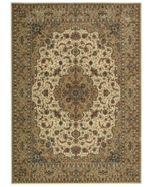 Nourison Area Rug Persian Arts Bd02 Ivory Gold 2 3