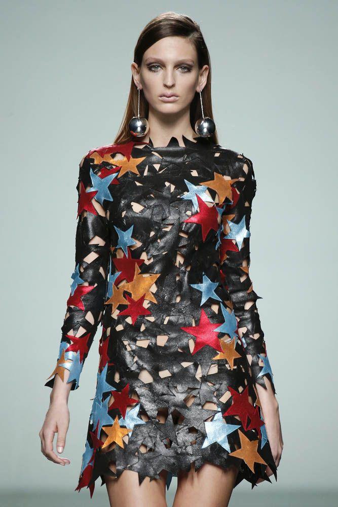 Colorful Fashion Show by Maria Escote 2016