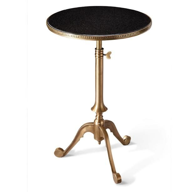 Telescoping Side Table @ Grandin Road $199 w/ marble top Accent