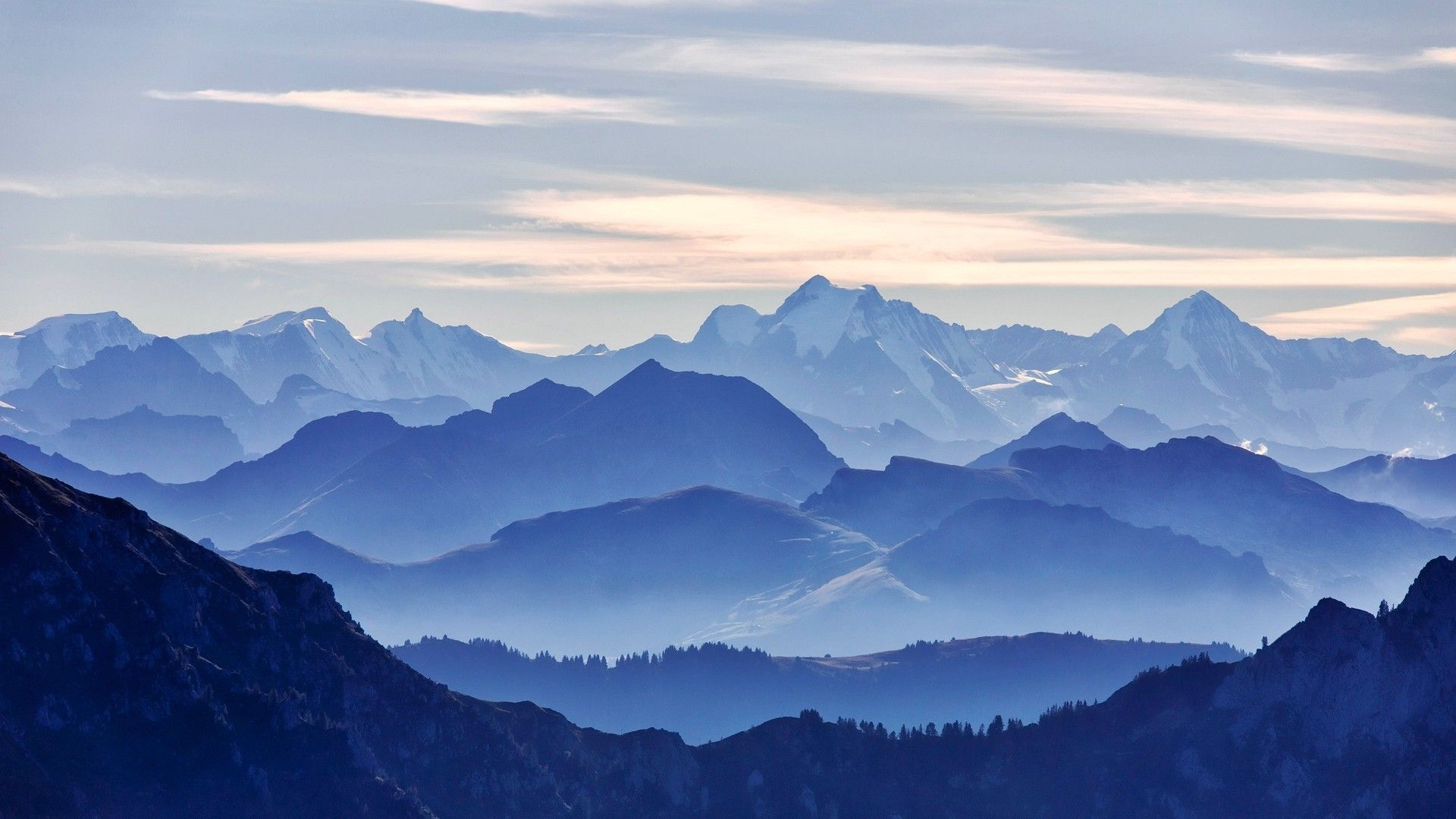 nature, Blue, Mountain Wallpapers HD / Desktop and Mobile Backgrounds | mountain | Pinterest ...