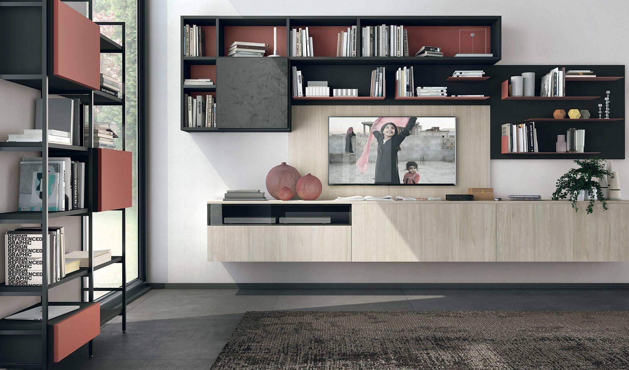 Photo of 18+ Favoloso soggiorno con pareti attrezzate 31