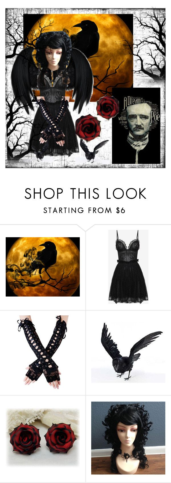 """""""Lost Lenore"""" by rilakkuma394 on Polyvore featuring WALL and Alexander McQueen"""