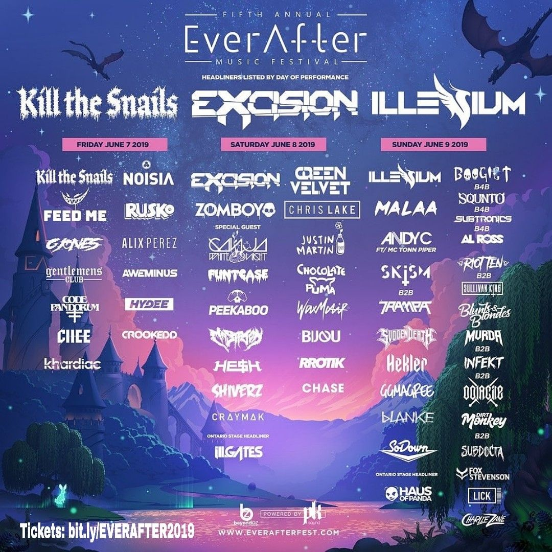 Ever After Music Festival 2019 Tickets Bit Ly Everafter2019 Buy