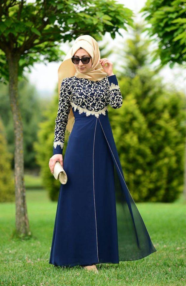 صور ستايل فساتين بنات محجبات عالم الصور Model Pakaian Hijab Model Baju Wanita Model Pakaian Muslim