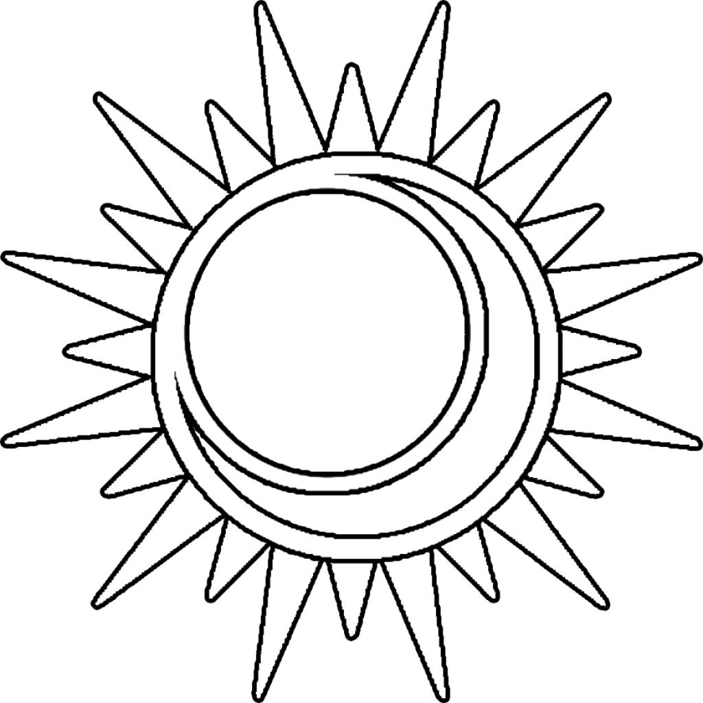 Image Result For Images Of Sun Amp Moon Lineart