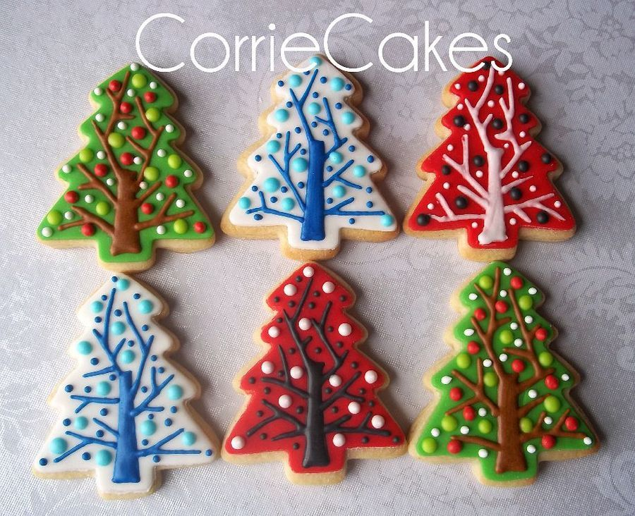 Assorted christmas cookies from 2012. Sugar cookies topped ...