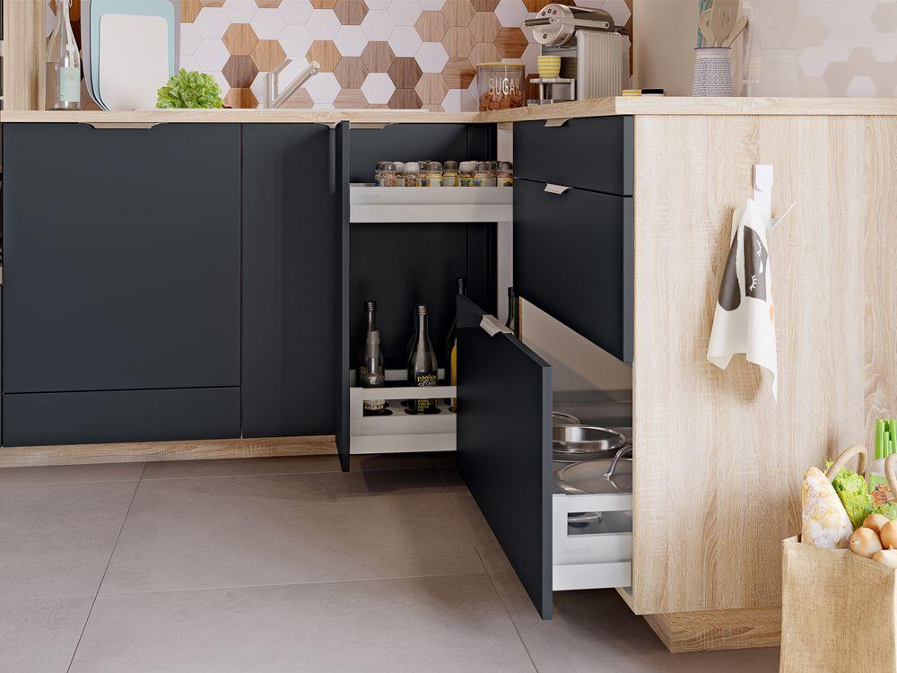 Cuisine Sur Mesure Modele De Cuisine Essentielle Par Socoo C En 2020 Cuisine Appartement Cuisine Petit Espace Cuisine Ouverte